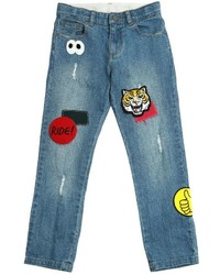 Stella McCartney Stretch Denim Jeans With Patches