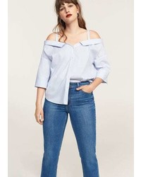 Violeta BY MANGO Straight Fit Rossy Jeans