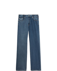 Burberry Straight Fit Two Tone Jeans