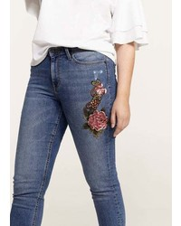 Violeta BY MANGO Super Slim Sequins Jeans