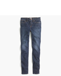 J.Crew Tall 9 High Rise Stretchy Toothpick Jean In Solano Wash