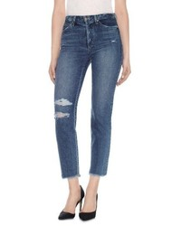 Joe's Jeans Taylor Hill X Joes Debbie High Rise Ankle Jeans