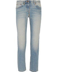 The Row Ashland Cropped Mid Rise Straight Leg Jeans
