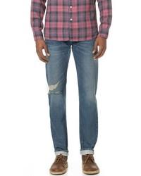 The selvedge slim straight jeans medium 1140528