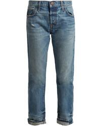 Current/Elliott The Selvedge Tapered Leg Jeans