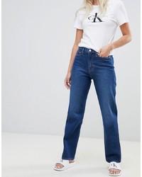 Calvin Klein Jeans To Asos American Classic High Rise Straight Leg Jean