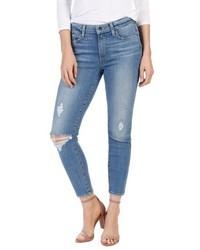 Paige Transcend Vintage Hoxton High Waist Crop Jeans