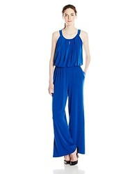 Andrew Marc Marc New York Halter Neck Wide Leg Jumpsuit