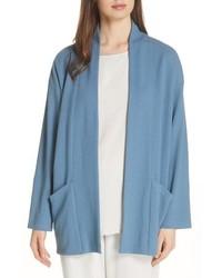 Eileen Fisher Organic Cotton Blend Kimono Jacket