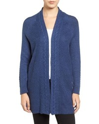 Cable stitch open front cardigan medium 801764