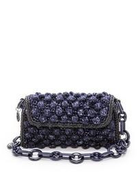 Boucle knit bag medium 158098