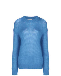 Prada Dropped Shoulder Knit Jumper
