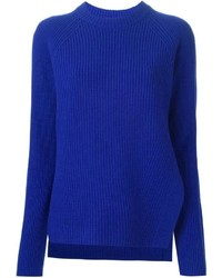 Ribbed knit sweater medium 290173