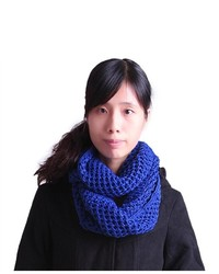 HDE Knit Warm Winter Crochet Infinity Circle Cowl Scarf Shawl