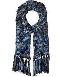 Jessica Simpson Multicolor Sequin Blend Knit Skinny Scarf