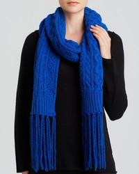 Michael Kors Michl Kors Fringed Cable Scarf Bloomingdales