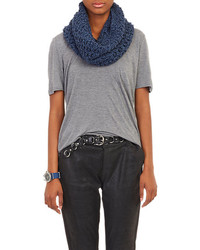 Net knit cowl medium 182559