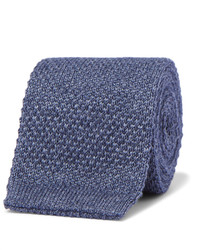 Loro Piana 6cm Cashmere And Silk Blend Knitted Tie