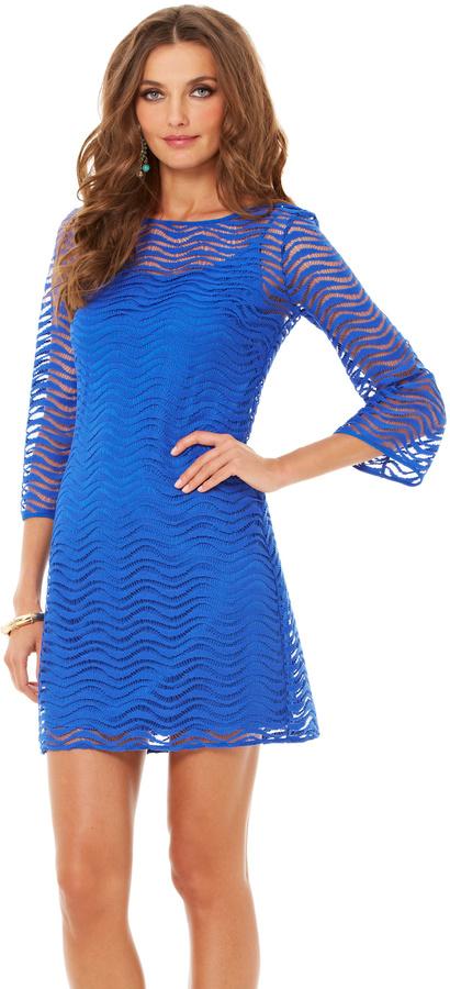 Lilly Pulitzer Final Sale Topanga Lace Tunic Dress 168 Lilly