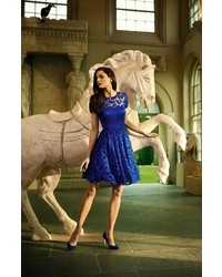 349b4fa1866 ... Ted Baker London Caree Lace Fit Flare Dress ...
