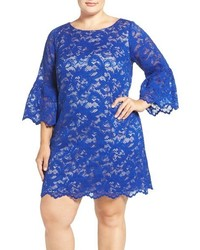 Plus size lace shift dress medium 1249137