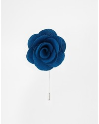 Asos Brand Flower Lapel Pin