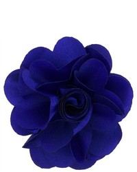 Dapper World Blue Rose Flower Lapel Pin