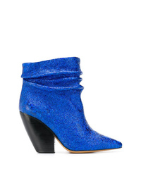 IRO Block Heel Ankle Boots
