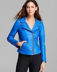 Doma Jacket Leather Moto