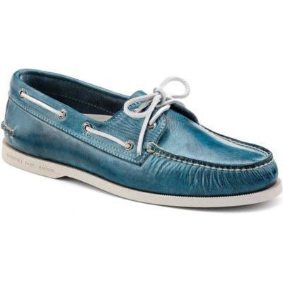care for sperry top-sider shoes blue