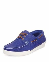 Eastland Usa Bison Boat Shoe Royal Blue