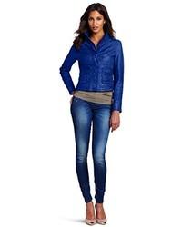 Blue downtown gypsy jacket medium 238528