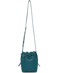 Blue saffiano mini mini bucket bag medium 5311227