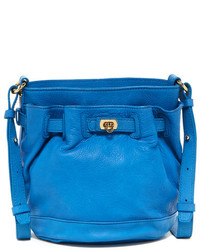 Letizia Leather Las Vegas Small Bucket Bag
