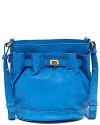 Letizia Leather Las Vegas Small Bucket Bag