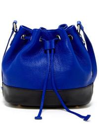 Susu Ava Genuine Leather Bucket Bag