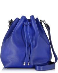 Proenza Schouler Ultramarine Leather Large Bucket Bag