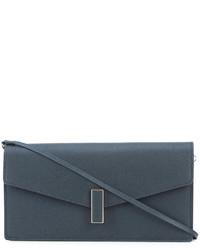 Valextra Flap Closure Clutch Bag