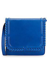 Dannijo Lypton Laced Leather Crossbody Bag