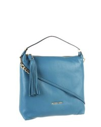 Michael Kors Michl Kors Weston Large Top Zip Shoulder Bag Turquoise