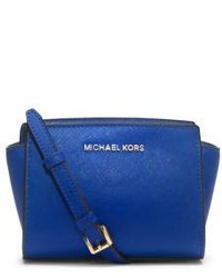 Michael Kors Michl Kors Selma Mini Saffiano Leather Crossbody