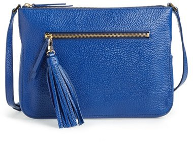 b640c7342612 ... Halogen Tassel Leather Crossbody Bag ...