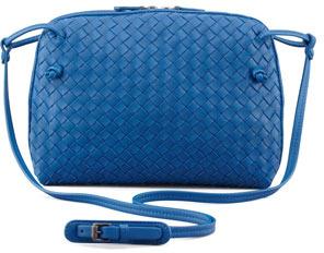 e02862ee3ca9 ... Bottega Veneta Veneta Small Messenger Bag Blue ...