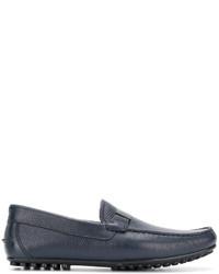 Emporio Armani Logo Plaque Driving Shoes