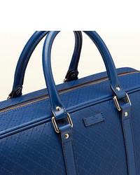 800aa14bc065 Gucci Bright Diamante Leather Duffle Bag, $1,890   Gucci   Lookastic.com