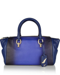 Diane von Furstenberg Sutra Small Ombr Leather Duffle Bag