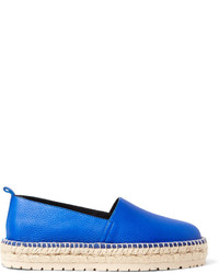 Balenciaga Textured Leather Espadrilles