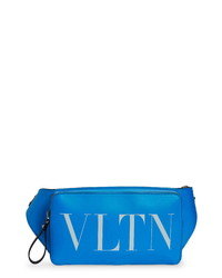 Valentino Vltn Logo Leather Belt Bag