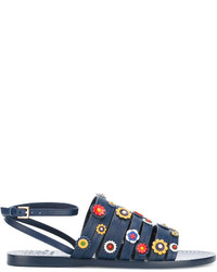 Tory Burch Marguerite Flat Sandals