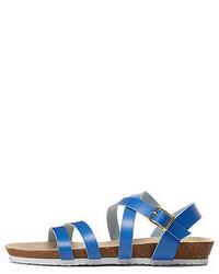 Fahrenheit Strappy Flat Sandals